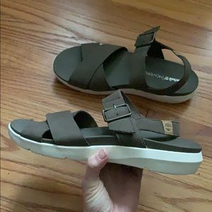 Timberland Wilesport Olive Sandals size 9